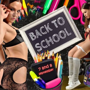 back 2 school 7.-9. sept
