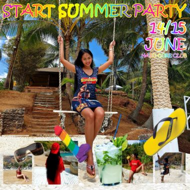 start summer party 14. & 15. june
