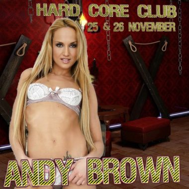 bdsm performance with andy brown 25 & 26 November