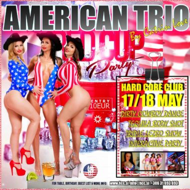 american trio 17. & 18. may